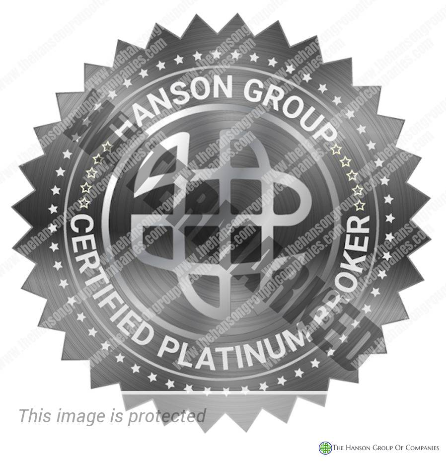 Hanson Group Platinum Broker Seal