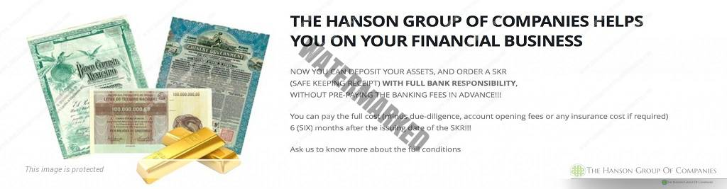Financial Instruments Bank Guarantee, BG, Standby Letter of